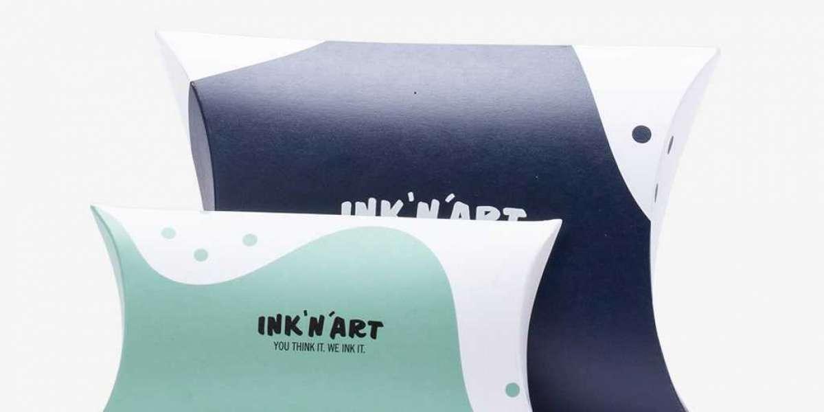 Eco-Friendly Custom Pillow Boxes